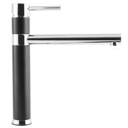 GRADE A1 - Taylor & Moore  Black and Chrome Single Lever Mixer Tap