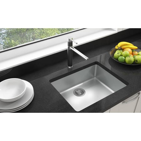 Taylor & Moore REGALBLACK Black and Chrome Single Lever Mixer Tap