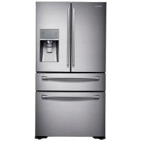 GRADE A2 - Samsung RF24HSESBSR 495L Frost Free American Freestanding Fridge Freezer - Stainless Steel Best Price, Cheapest Prices