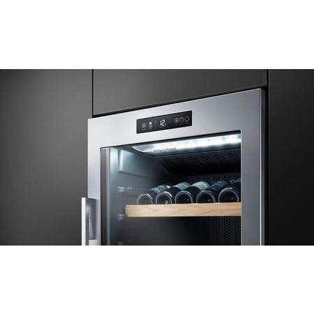 Fisher & Paykel RF356RDWX1 24952 - 143 Bottle Wine Cabinet Stainless Steel