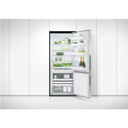 Fisher & Paykel RF442BRPX6 25255 - 680mm Wide Flat Door Freestanding Fridge Freezer With Active Smar