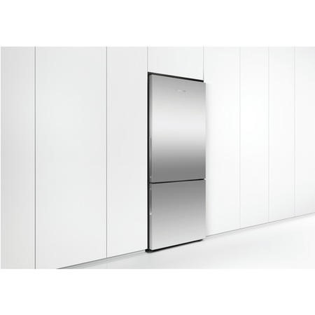 Fisher & Paykel RF442BLPX6 25256 - 680mm Wide Flat Door Freestanding Fridge Freezer With Active Smar