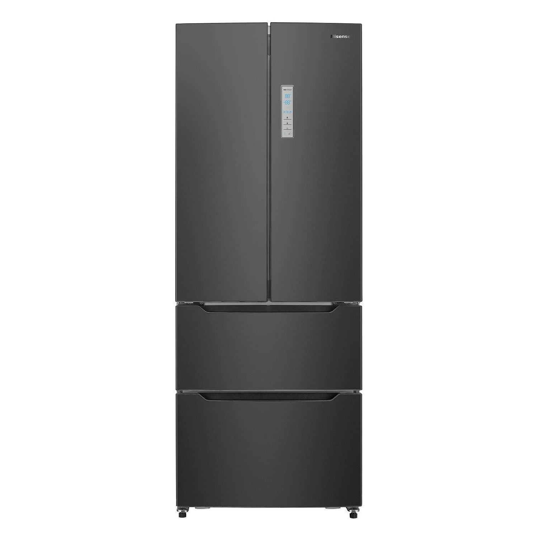 Hisense RF528N4AB1 70cm Wide French Door Freestanding Fridge Freezer - Black  sc 1 st  Appliances Direct & Hisense RF528N4AB1 70cm Wide French Door Freestanding Fridge Freezer ...