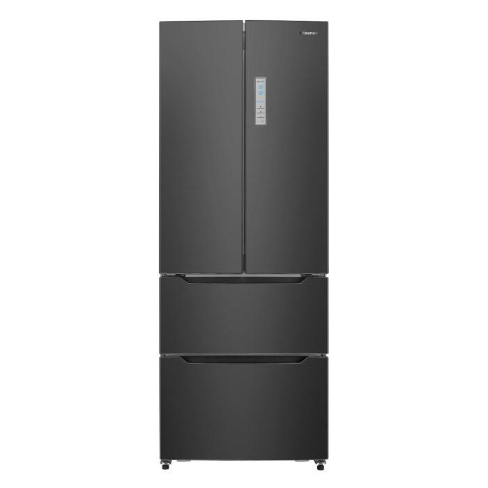 Hisense Rf528n4ab1 70cm Wide French Door Freestanding Fridge Freezer