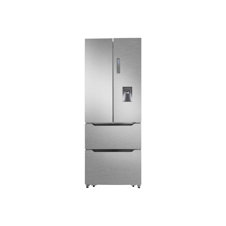 Hisense RF528N4WC1 50/50 Split Frost Free American Style Fridge Freezer -  Stainless Steel