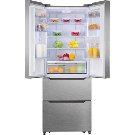 Hisense RF528N4WC1 American Style Side-by-side Fridge Freezer - Stainless Steel