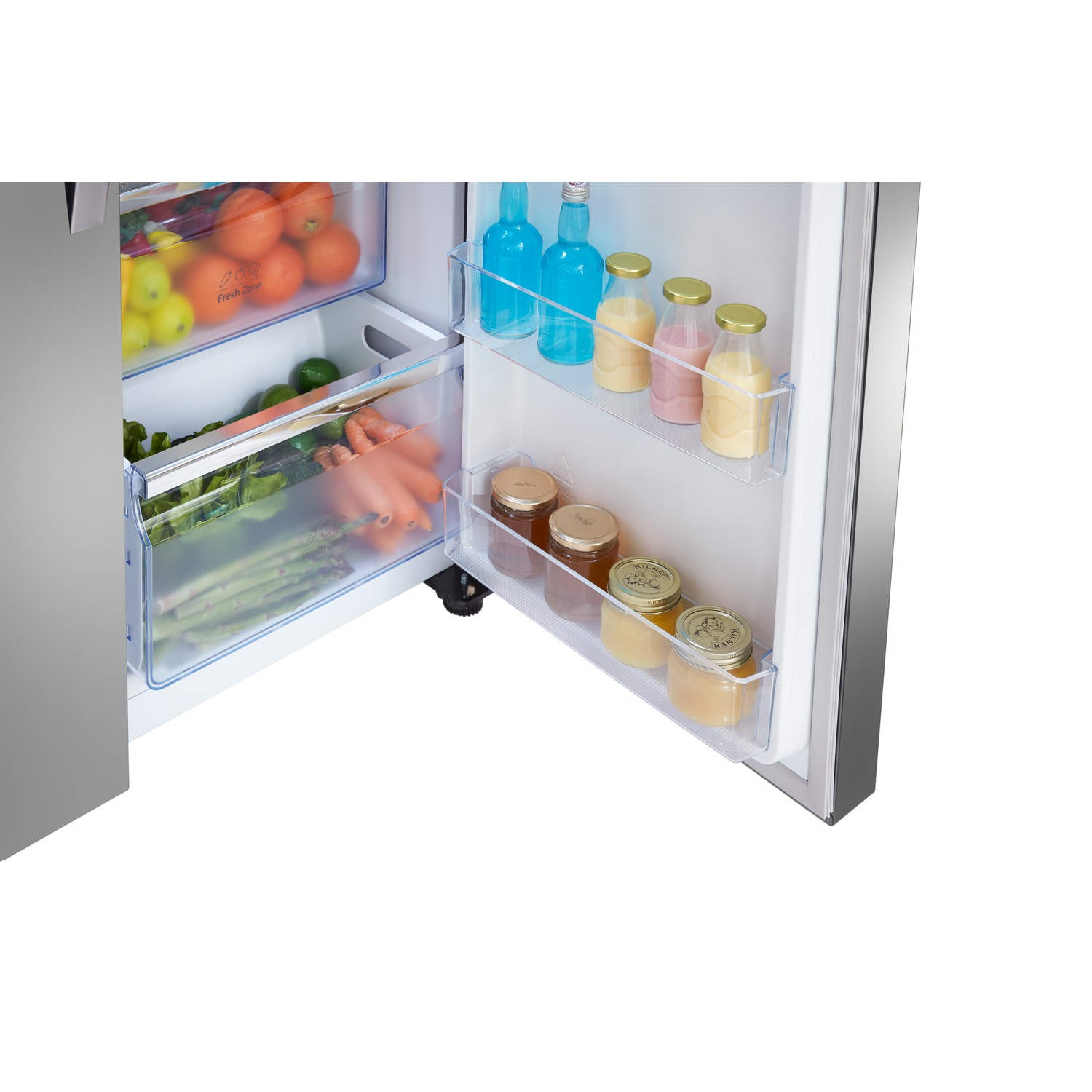 Hisense RS696N4II1 Side By Side American Fridge Freezer With Ice And Water  Dispenser Stainless Steel Look