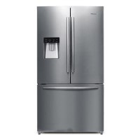 GRADE A3 - Hisense RF697N4ZS1 60/40 Split Frost Free American Style French Door Freestanding Fridge Freezer With Stored Water Dispenser - Stainless Steel Best Price, Cheapest Prices