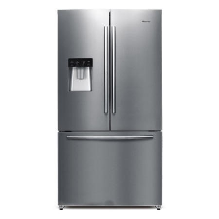 GRADE A2 - Hisense RF697N4ZS1 American Fridge Freezer Stainless Steel French Door