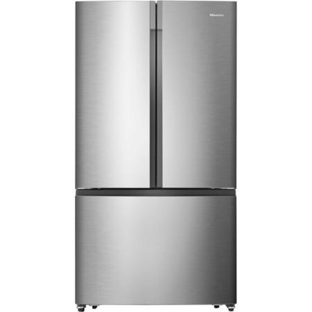 Hisense RF715N4AS1 French Door Style American Fridge Freezer - Stainless Steel