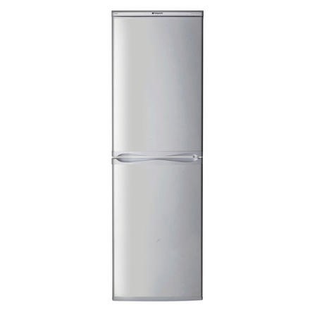 Hotpoint RFAA52S 50/50 Ice Diamond Freestanding Fridge Freezer Silver
