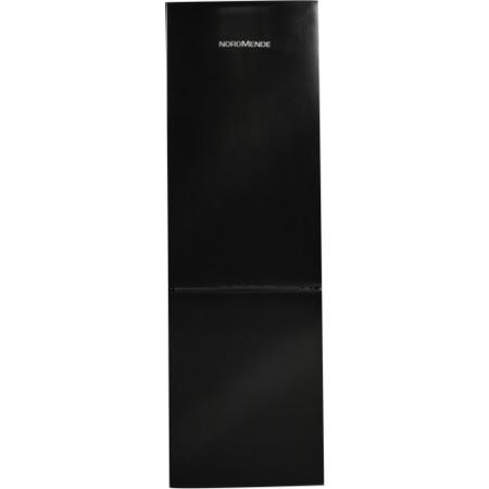 NordMende RFF6040BLAPLUS 170x54cm Black Freestanding Fridge Freezer