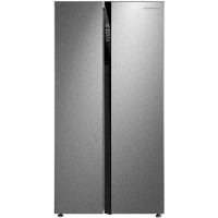 Russell Hobbs RH90FF179SS American Style Side-by-side Fridge Freezer - Stainless Steel Best Price, Cheapest Prices
