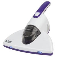 Russell Hobbs RHBV1001 Bed Vacuum Cleaner White And Purple