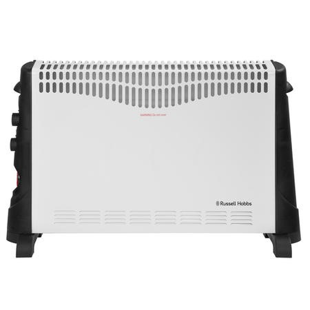 Russell Hobbs 2KW Convector Heater with Adjustable Thermostat and Timer