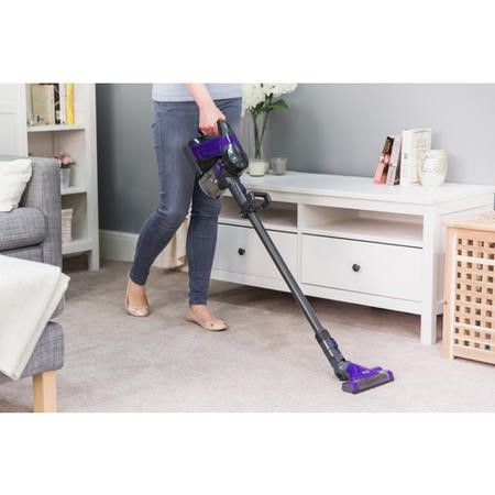 Russell Hobbs RHHS2201 Lithium Cordless Hand Stick Vacuum Cleaner - Grey and Purple