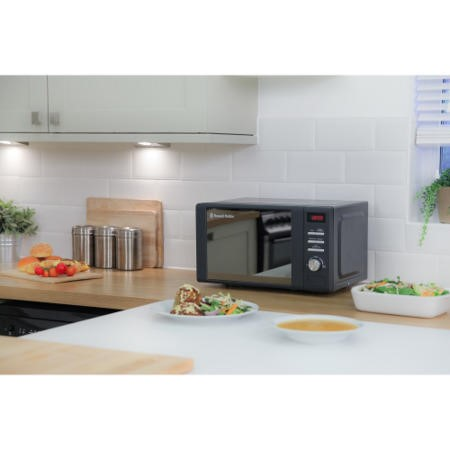 Russell Hobbs RHM2064G 20L 800W Freestanding Digital Microwave in Grey