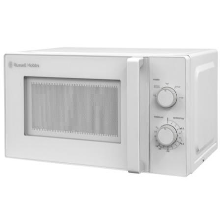 russell hobbs rhm2077 20l manual microwave oven white appliances direct