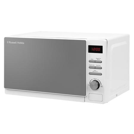 Russell Hobbs Rhm2079 A 20 L 800 W Aura Freestanding Digital Microwave In White by Russell Hobbs