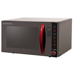 Russell Hobbs RHM2080BR 20L Microwave Oven Black and Red
