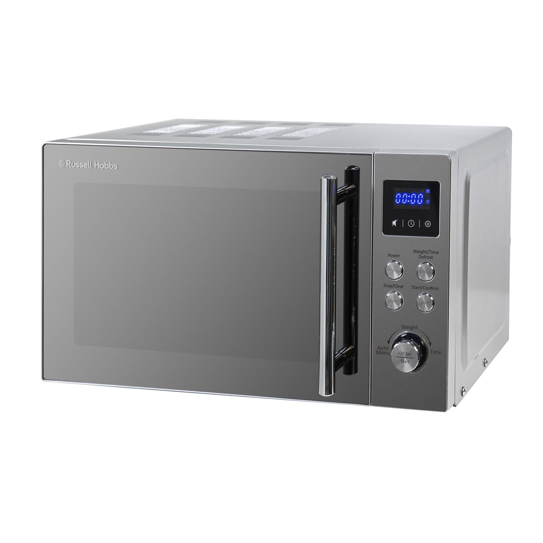 Russell Hobbs Rhm2086ss Buckingham 17l Digital Microwave Oven Silver Appliances Direct