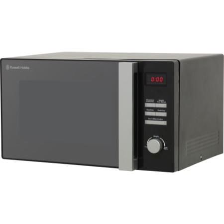 Russell Hobbs RHM2565BCG 25L 900W Freestanding Digital Combination Microwave in Black
