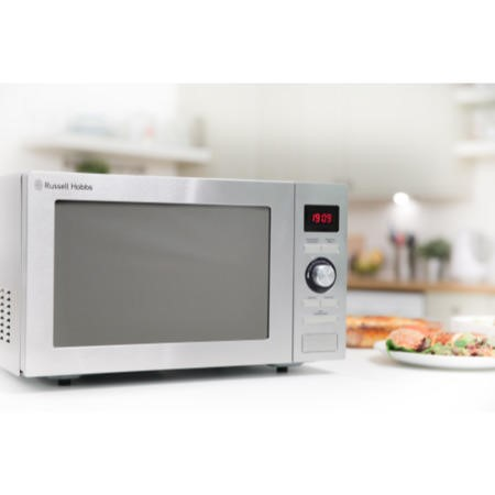 GRADE A1 - Russell Hobbs RHM2572CG 25 L Digital Combination Microwave Oven Stainless Steel