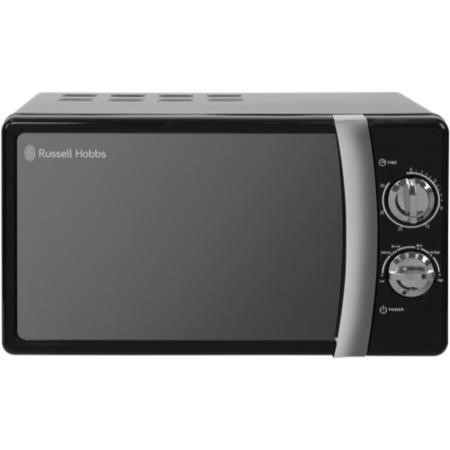 Russell Hobbs RHMM701B 17L 700W Freestanding Manual Microwave in Black