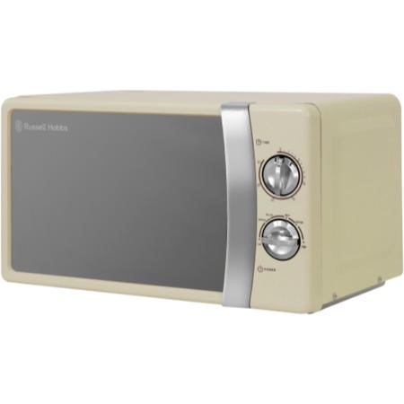 Russell Hobbs RHMM701C 17L 700W Freestanding Manual Microwave in Cream