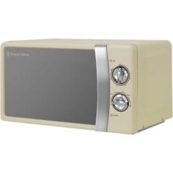 Russell Hobbs RHMM701C Colours 17 L Cream Manual Microwave Oven