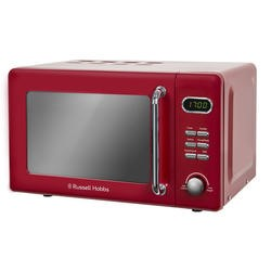 Russell Hobbs RHRETMD706R Retro 17 L Red Digital Microwave Oven