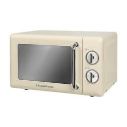 Russell Hobbs RHRETMM705C Retro 17 L Cream Manual Microwave Oven