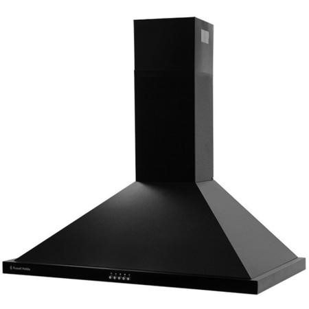 Russell Hobbs RHSCH901B 90cm Wide Black Chimney Cooker Hood