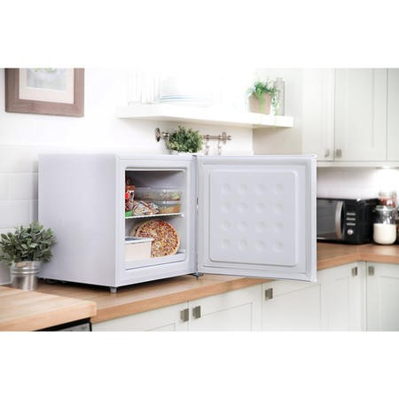Russell Hobbs RHTTFZ1 47cm Wide Compact Table Top Freezer - White