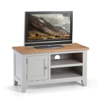 Julian Bowen Small Richmond TV Unit in Grey