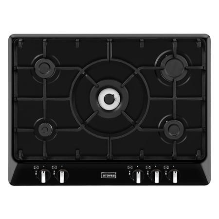 Stoves STRICH700GH 44444410 70cm 5 Burner Gas Hob in Black