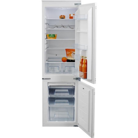 NordMende RIFF7030NF Frost Free 70-30 Sliding Rail Integrated Fridge Freezer