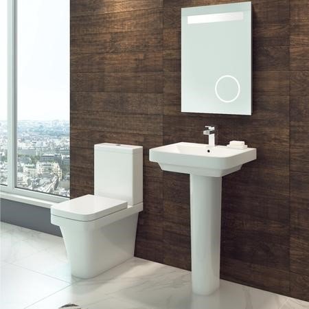 Davana Back To Wall Toilet with Soft Close Seat