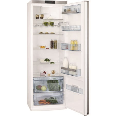 AEG RKE64021DW 185x60cm 400L Freestanding Fridge - White