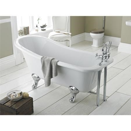 Whitehaven Freestanding Bath - Smooth Leg Set 1500mm