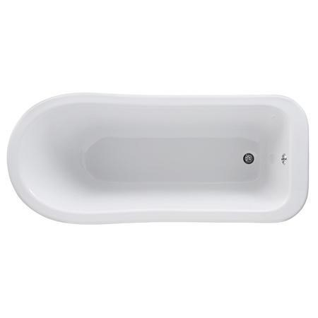 Whitehaven Freestanding Bath - Smooth Leg Set 1700mm