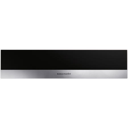 Rangemaster RMB45WDBLSS 14cm Built-in Warming Drawer Black Stainless