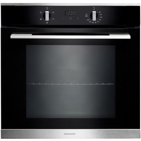 GRADE A1 - Rangemaster RMB605BLSS 60cm Electric Built-in 5 Function Single Oven