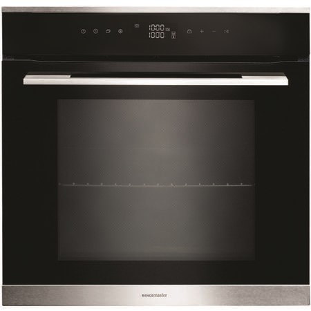 Rangemaster RMB610BLSS 60cm Built-in Single Oven - Black And Stainless Steel