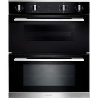 Rangemaster RMB7245BLSS 72cm Built-under 4/5 Functions Double Oven