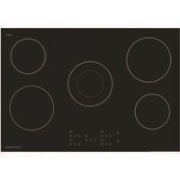 Rangemaster RMB75HPECGL  75cm 5 Zone Ceramic Hob Black Glass