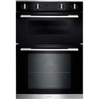 Rangemaster RMB9048BLSS 90cm Built-In 4/8 Functions Double Oven
