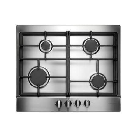 Rangemaster 85670 60cm Four Burner Gas Hob - Stainless Steel