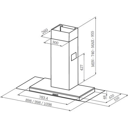 RMHDT100SS_2_LargeProductImage?width=100&height=100&v=1 rangemaster 100cm chimney cooker hood stainless steel and glass rangemaster cooker hood wiring diagram at n-0.co