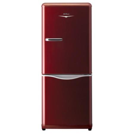 Daewoo Rn173nr Retro Style Frost Free Fridge Freezer Red